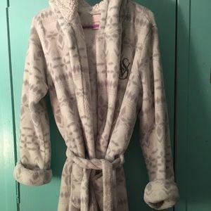 Vs fleece robe